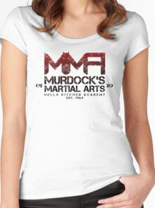 MMA - Murdock's Martial Arts (V02) Women's Fitted Scoop T-Shirt