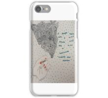 Looking For Alaska Drawing  iPhone Case/Skin