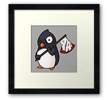 Angry Penguin Framed Print