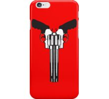 Smith and Wesson cow skull iPhone Case/Skin