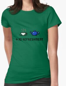 Tea: +10 Refreshment Womens Fitted T-Shirt