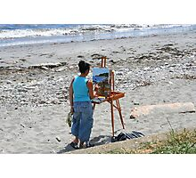 Painting the Sea Photographic Print