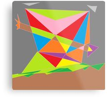 Ribbon Arrow Metal Print
