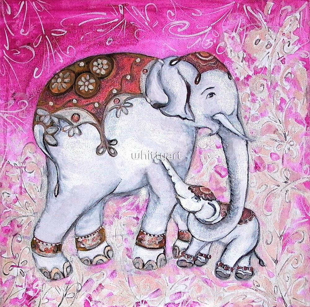 Elephants by whittyart
