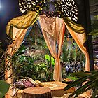 USA. Pennsylvania. Philadelphia Flower Show 2015. Aladdin's gazebo. by vadim19