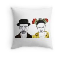 Walter and Jessie Throw Pillow
