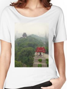Temples near Beijing, China Women's Relaxed Fit T-Shirt