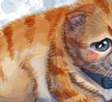 The Saddest Kitten Sticker