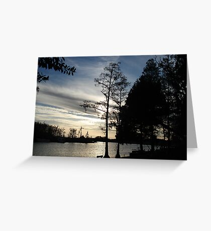 March 26, 2009 Sunset Greeting Card