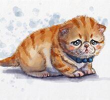 The Saddest Kitten by Melissa-Anne Steben