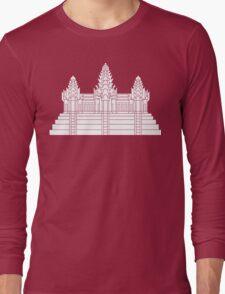 Angkor Wat Ver.2.0 Khmer Temple Long Sleeve T-Shirt