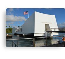USS Arizona Memorial Canvas Print