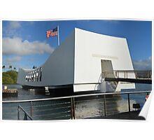 USS Arizona Memorial Poster