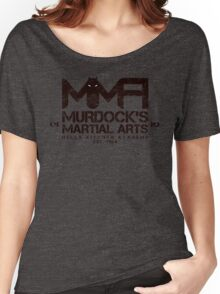 MMA - Murdock's Martial Arts (V03) Stealth Women's Relaxed Fit T-Shirt