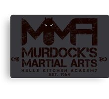 MMA - Murdock's Martial Arts (V03) Stealth Canvas Print