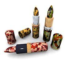 Camouflage lipsticks by jean-louis bouzou