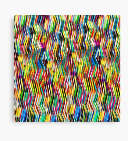 (s)tripy chevron Canvas Print