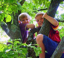 Tree Climbers by kat  -