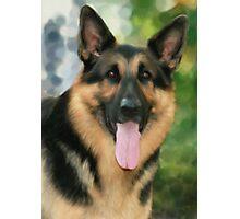 Happy Shepherd Photographic Print