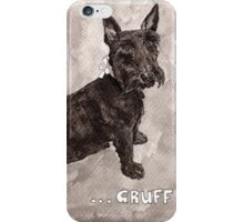 Lily the Scottish Terrier iPhone Case/Skin