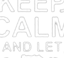 Keep Calm and Let Aaron - T - Shirts & Hoodies  Sticker