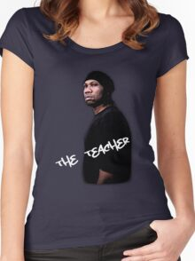 Krs One - The teacher Women's Fitted Scoop T-Shirt