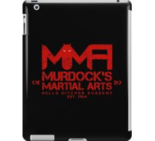 MMA - Murdock's Martial Arts (V04 - Bloodred) iPad Case/Skin