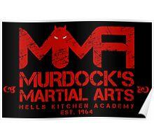 MMA - Murdock's Martial Arts (V04 - Bloodred) Poster