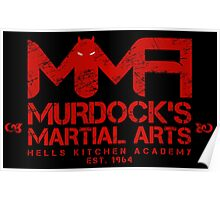 MMA - Murdock's Martial Arts (V04 - Bloodred) Poster