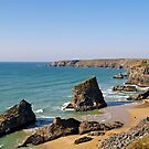 The Bedruthan Steps by Alex Cassels