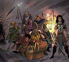 Fantasy Art by WarpZoneGraphic