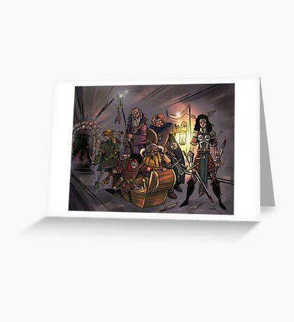 Fantasy Art Greeting Card