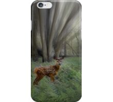 Fawn in the Morning Sunlight iPhone Case/Skin