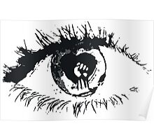 Rise Against Eye Poster