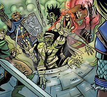 Fantasy Art 2 by WarpZoneGraphic