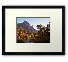 The Watchman stands guard Framed Print
