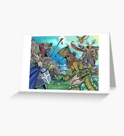 Fantasy Art 3 Greeting Card