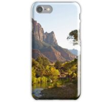 The Watchman stands guard iPhone Case/Skin