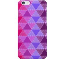 Funky Triangle Structure iPhone Case/Skin