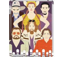 Around The Dude (Faces & Movies) iPad Case/Skin