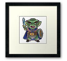 a Goblin Framed Print