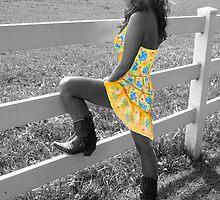 Cowgirl Paper Doll by Jen Orr