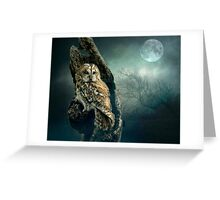 Hunter's Moon Greeting Card