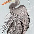 Great Blue Heron display by Linda Sparks