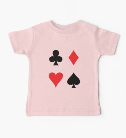 card suits Baby Tee