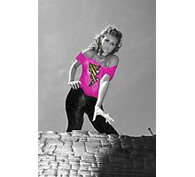 """""""Grease"""" Paper Doll Photographic Print"""