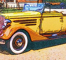 Old-Orange-Car-Justin Beck-picture-2015103 by Justin Beck
