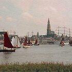 Beautiful Antwerp by Gilberte