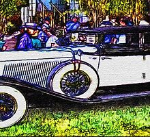 Old-White-Car-Justin Beck-picture-2015104 by Justin Beck