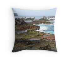 Azores seascape Throw Pillow